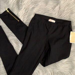 Michael Kors NWT black leggings size xs